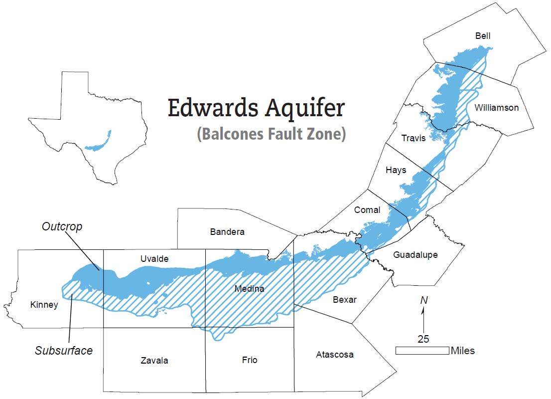 Edwards BFZ Aquifer