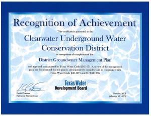 CUWCD-DistrictManagementPlan-TWDB-Certificate